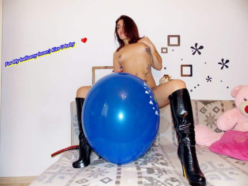 balloon fetish cams