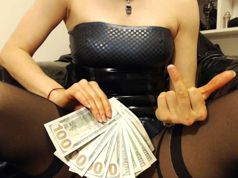 findom cams, live financial domination