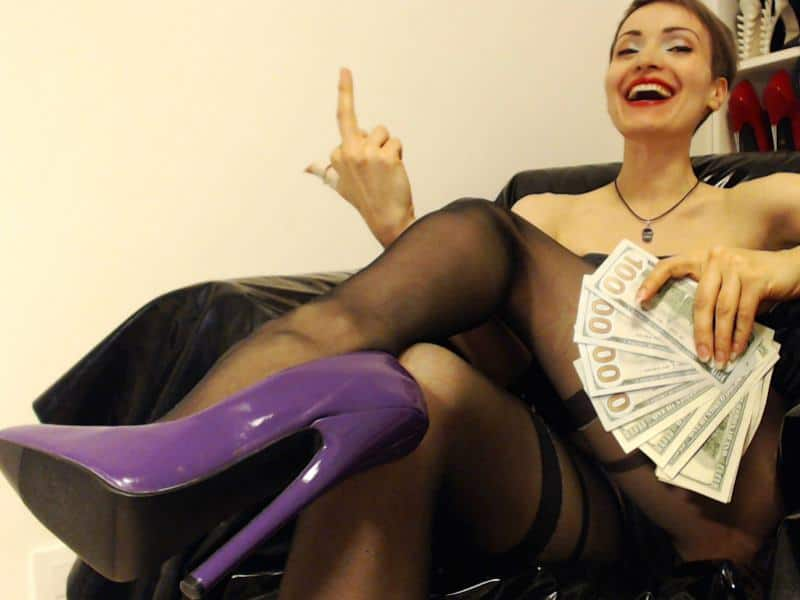 findom cams, financial domination, money slaves