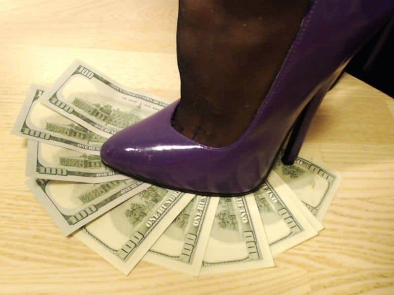 financial domination, financial humiliation cams
