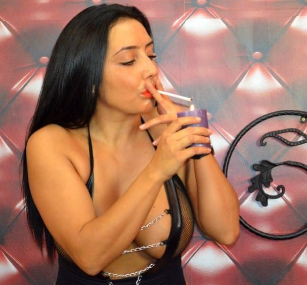 ciggy smoking, ciggy fetish