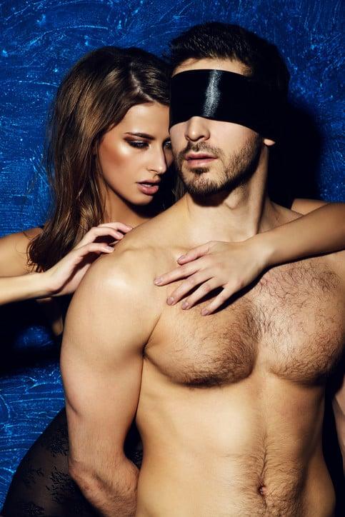 bdsm storie, blindfolded slave